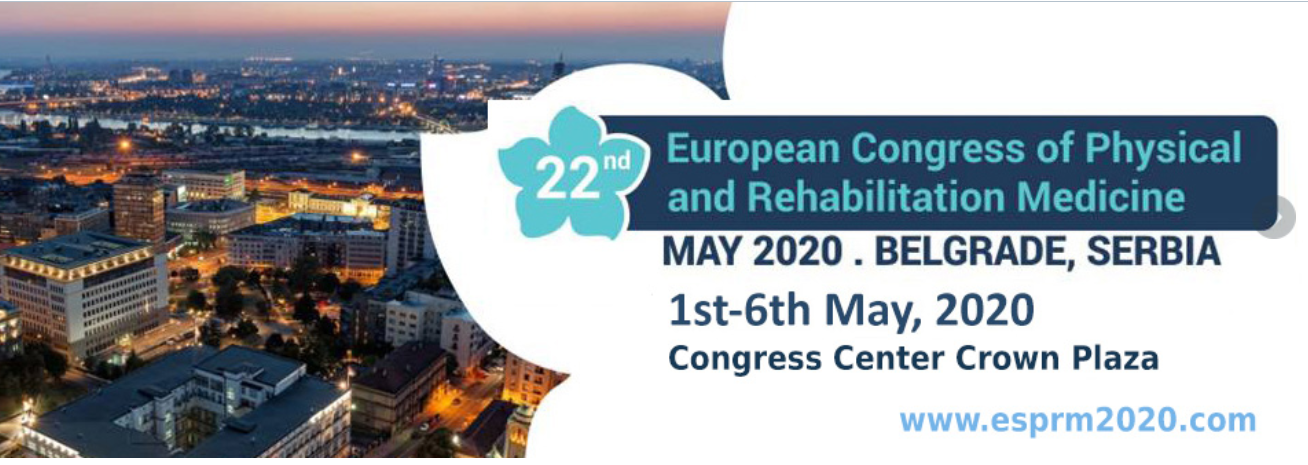 European Congress of Physical and Rehabilitation Medicine 22nd